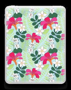 Tropical Flowers  Skin IPad 1