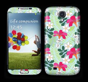 Tropical Flowers  Skin Galaxy S4