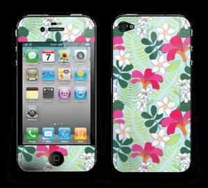 Tropical Flowers  Skin IPhone 4/4s