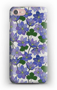 Anemone hepatica cover IPhone 7
