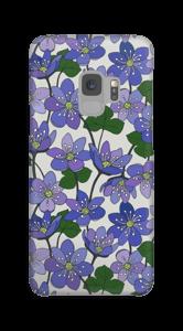 Anemone blu cover Galaxy S9