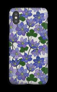 Blåveis deksel IPhone XS