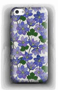 Blue Flowers case IPhone 5c