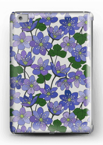 Blue Flowers case IPad mini 2