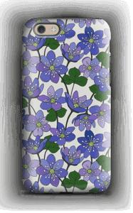 Blue Flowers case IPhone 6 tough