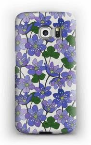 Blåveis deksel Galaxy S6 Edge