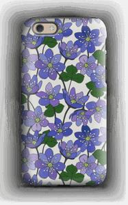 Blue Flowers case IPhone 6s tough