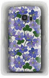 Fleurs violettes Coque  Galaxy S7