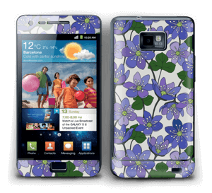 Fleurs violettes Skin Galaxy S2