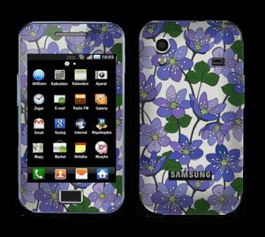Fleurs violettes Skin Galaxy Ace