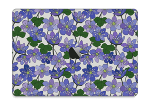 "Blue flowers Skin MacBook Pro 13"" 2016-"