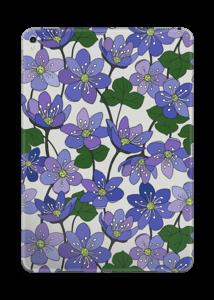 Fleurs violettes Skin IPad Pro 9.7