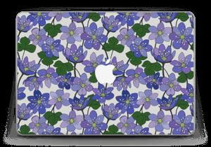 "Blue flowers Skin MacBook Pro Retina 13"" 2015"