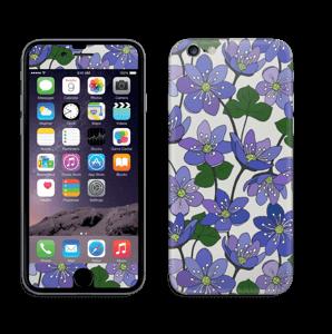 Fleurs violettes Skin IPhone 6/6s