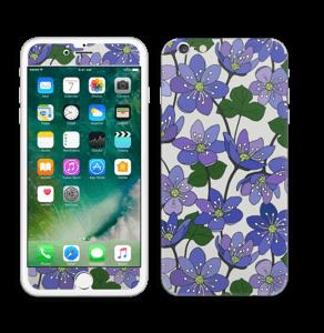 Fleurs violettes Skin IPhone 6 Plus