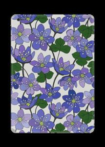 Fleurs violettes Skin IPad Air