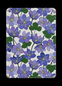 Fleurs violettes Skin IPad Air 2