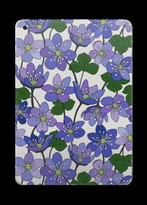 Fleurs violettes Skin IPad 2017