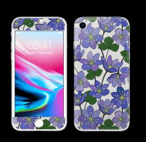 Fleurs violettes Skin IPhone 8