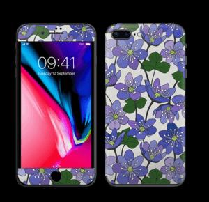 Fleurs violettes Skin IPhone 8 Plus