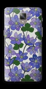 Fleurs violettes Skin OnePlus 3T