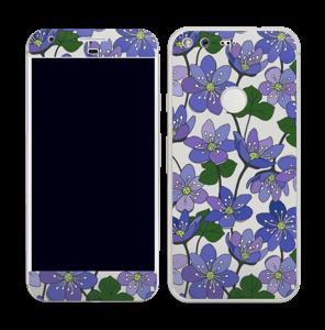 Fleurs violettes Skin Pixel