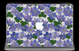 """Fleurs violettes Skin MacBook Air 11"""""""