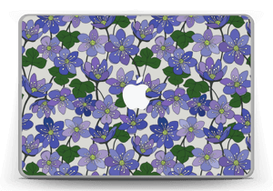 "Fleurs violettes Skin MacBook Pro 13"" -2015"