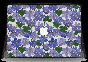 """Fleurs violettes Skin MacBook Air 13"""""""