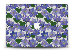 "Fleurs violettes Skin MacBook Pro Retina 15"" 2015"
