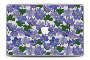 "Fleurs violettes Skin MacBook Pro 15"" -2015"