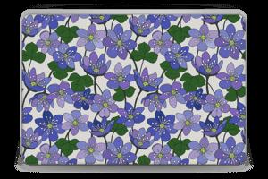 Fleurs violettes Skin Laptop 15.6