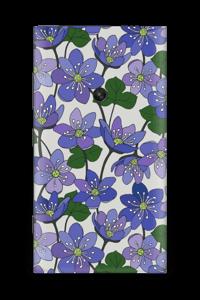 Fleurs violettes Skin Nokia Lumia 920