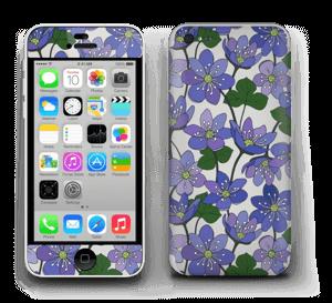 Fleurs violettes Skin IPhone 5c