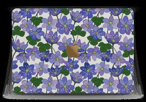 """Fleurs violettes Skin MacBook 12"""""""