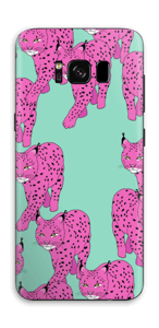 Lince rosa Skin Galaxy S8