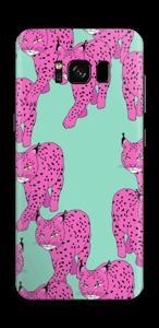 Pink & Wild  Skin Galaxy S8