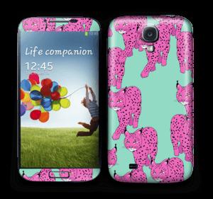 Pink & Wild  Skin Galaxy S4