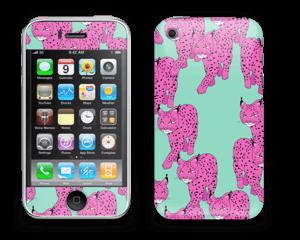 Pink & Wild Skin IPhone 3G/3GS