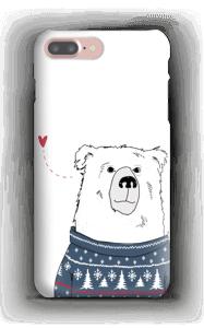 Polar Sweater Bear case IPhone 7 Plus