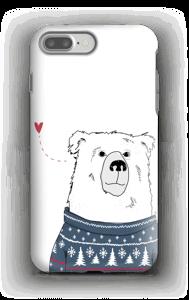 Vinterbjørn deksel IPhone 7 Plus tough
