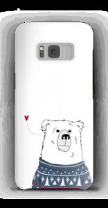 IJsbeer hoesje Galaxy S8