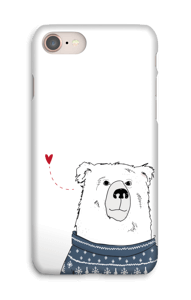 Ours d'hiver Coque  IPhone 8