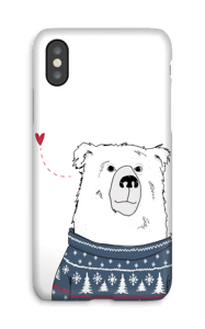 Ours d'hiver Coque  IPhone X