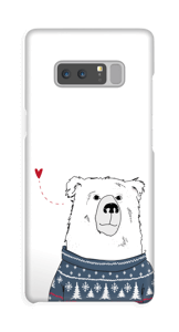 Vinterbjørn deksel Galaxy Note8