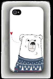Villapaita jääkarhu kuoret IPhone 4/4s
