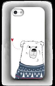 Villapaita jääkarhu kuoret IPhone 5/5S