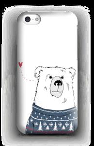 Polar Sweater Bear case IPhone 5c