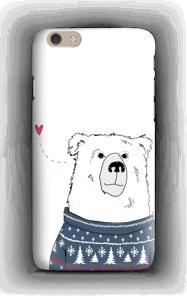 Villapaita jääkarhu kuoret IPhone 6 Plus