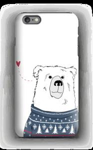 Villapaita jääkarhu kuoret IPhone 6s Plus tough